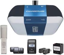Chamberlain B1381 Bright LED Smartphone Controlled Garage Door Opener