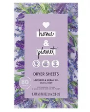 Love Home & Planet Lavender and Argan Dryer Sheets
