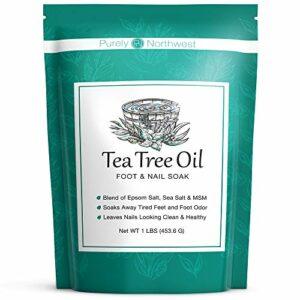 Simply Northwest Tea Tree Oil Foot & Body Soak