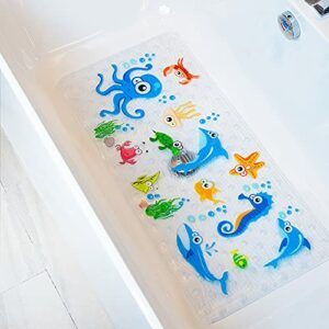 BeeHomee Bath Mat for Kids