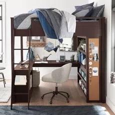 Pottery Barn Teen Sleep & Study Loft Bed