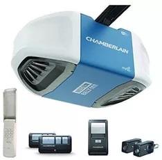 Chamberlain B550 Smartphone-Controlled Ultra-Quiet & Strong Belt Drive Garage Door Opener