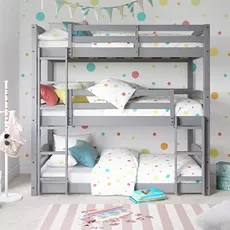 Dorel Living Sierra Triple Bunk Bed