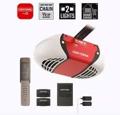 Craftsman 0.5 HP myQ Smart Chain Drive Garage Door Opener