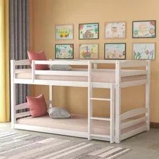 Harper and Bright Designs Twin over Twin Bunk Bed
