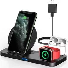 Powlaken 3 in one Wireless Charging Station